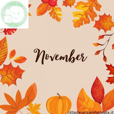 Le parole di novembre