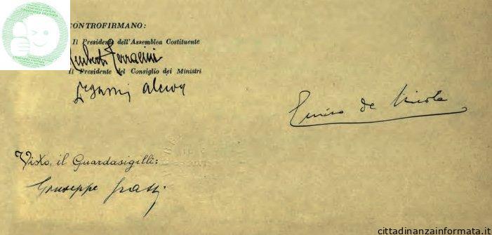 Le anime della Costituzione italiana
